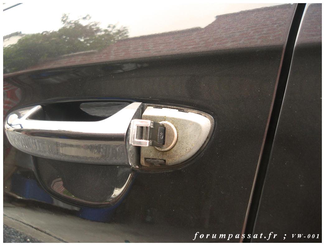Passat vi cc ouvrir porti re conducteur sans la - Comment ouvrir une porte fermee a clef ...